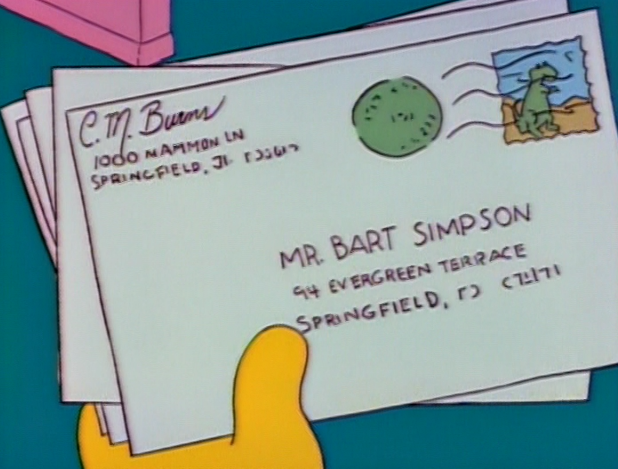 Mr bart simpson 94 evergreen terrace springfield r c7 for 742 evergreen terrace springfield